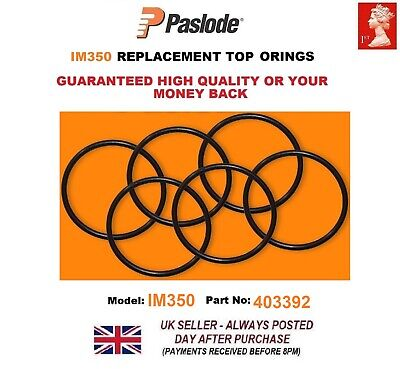 Paslode Im350 6x Replacement Top O Ring