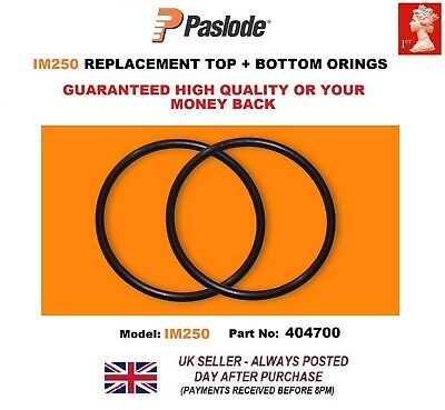 2x Paslode Im250  Replacement O Rings  404700 top and bottom