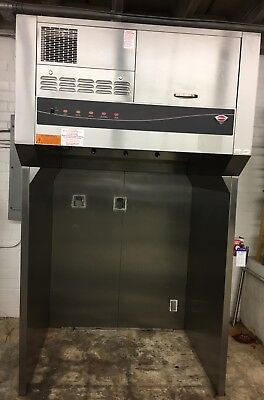 "Wells WVU-48 Universal 48"" Self-Contained Commercial Ventless Hood w/ Stand"