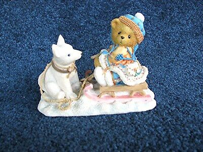 """Cherished Teddies Erica  """"friends Are Always Pulling For You"""" 1996"""