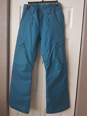 The North Face Women Ski Insulated Pants Blue Size M NWOT