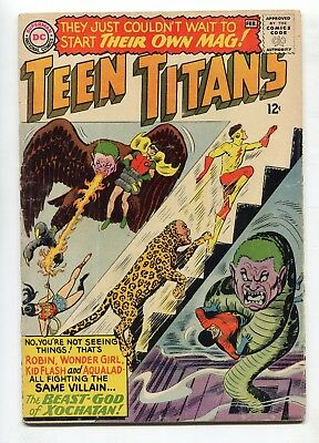 1966 Dc Comics Teen Titans #1 Joins The Peace Corps Very Good-