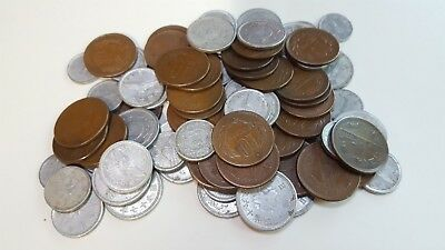 Japan Coins WWII Through 1965 Large Lot