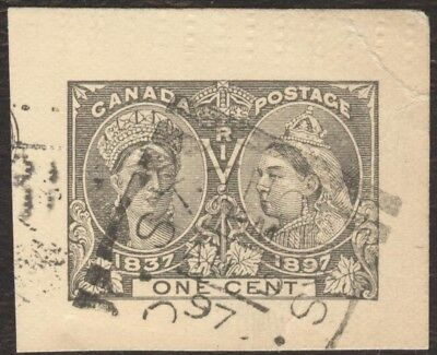 Stamps Canada # UX 16, 1¢, 1896, lot of 1 used stamp.