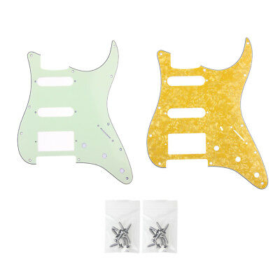 HSS 3 Ply Electric Guitar Pickguards Scratch Plate for Fender Strat Stratocaster