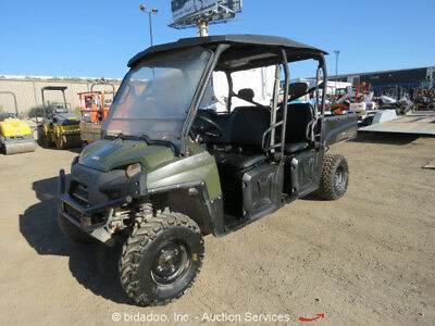 2013 Polaris CREW900 900 4x4 EFI Utility Vehicle UTV Dump Bed 4WD Yanmar Diesel