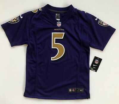 buy online 171fc 5e98b YOUTH XL (18-20) Joe Flacco Baltimore Ravens Nike Color Rush ...