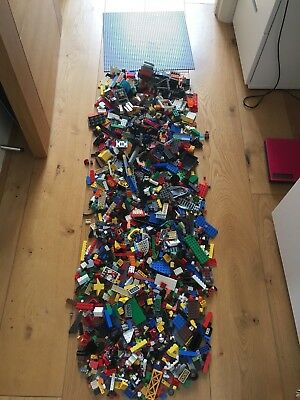 Over 3kg of LEGO Huge Large massive load bricks bundle job lot - no minifigs