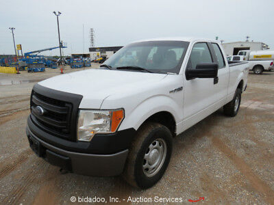 Ford F150  2013 Ford F150 XLT 4x4 Extended Cab Pickup Truck 5.0L V8 A/T Cold A/C Bluetooth