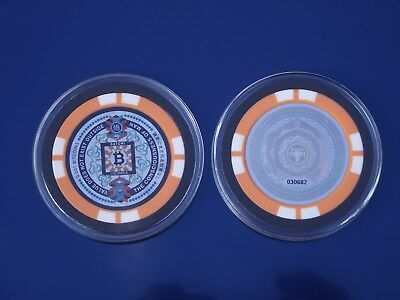 """Loaded Satori Bit Coin   Rare Type (Physical) """"Crypto Currency"""" 0.001"""