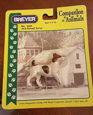 Collectible Breyer Companion Animal Jack Russell Terrier NIB Dog #1505 (Retired)