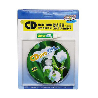 CD/DVD/VCD Lens Cleaner Cleaning fluid Disc Scratch Cleaner Remover Useful O14