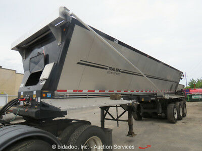 2014 Trail King OLB332NG-HH 36 CU YD Live Bottom Trailer Red River bidadoo