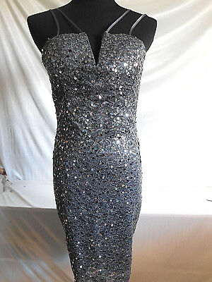 08073af0c NWT - B. Darlin - Sequined Party Dress - Charcoal - 13/14 - $20.00 ...