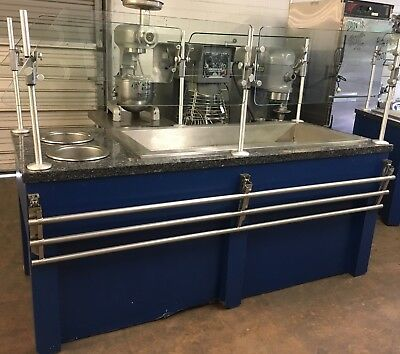 "80"" Ice Down Buffet w/ Double Sneezeguards Casters & Built In Soup Warmers"