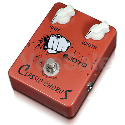JOYO JF-05 Classic Chorus Alloy Multi-Effects Guitar Pedal True Bypass Design