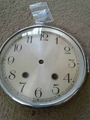 clock front complete with face bezel and glass