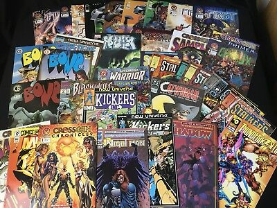 36 Comic Lot Hulk /Crossgen The First/ Thunderbolts/ The Shadow/ Catwoman/ Bone!