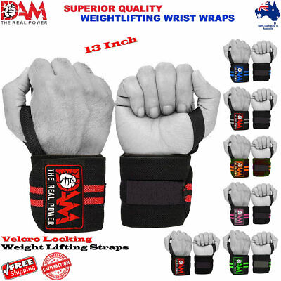 Wrist Wraps Straps Weightlifting Gym MMA Training Wrist Support Straps Elastic