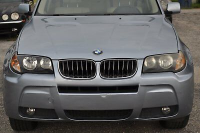 2006 Bmw X3 4Dr Suv Wagon 2006 Bmw X3 4Dr Suv Gray Low Mile Stunning Condition