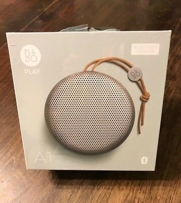 B&O Play Bluetooth Speaker A1 NEW IN BOX - Natural
