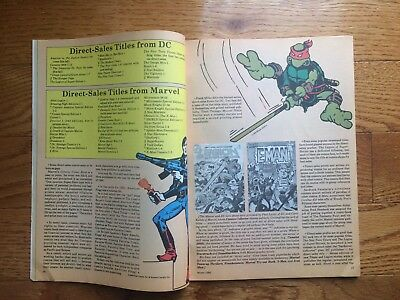 Comics Collector 6 1985 1st Color TMNT Eastman Laird