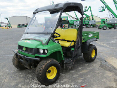2015 John Deere 4X4HPX 4WD Gator Diesel 4x4 UTV Utility Cart Vehicle Bed