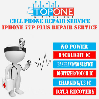 iPhone 7 / iPhone 7 Plus Audio IC No Mic Speaker Slow Boot Repair Service