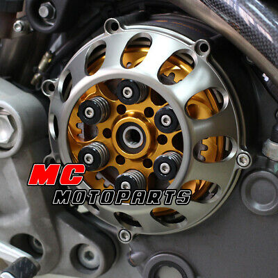 For Ducati Billet Dry Clutch Cover Black Supersport 900 750 1000 SS CC27