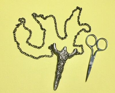 Quality scissors chatelaine with embroidery scissors