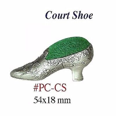 "Pin Cushion  ""Court Shoe""   Size:  54 x 18 mm     PC-CS"
