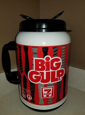 7/11 Big Gulp 100 oz Soda Fountain Slurpee Giant Thermal Drink Cup with Lid