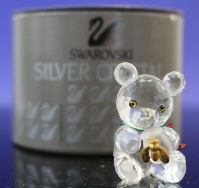 Swarovski Austrian Crystal Kris Bear with Honey 7664 NR 044 000 in Box