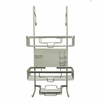 Aluminum Shower Caddy, 2 Tiers over door shower rack, Never Rust, Stainless 4.8