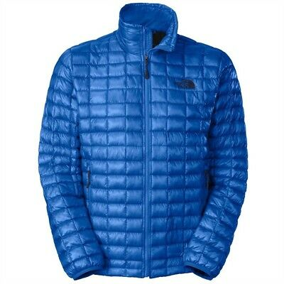 77a3b7c10 THE NORTH FACE Estate Nautical Blue Full Zip Momentum Thermal Jacket ...