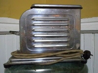 Antique Toastmaster Automatic Electric Toaster Waters-Genter Co. Still Works!