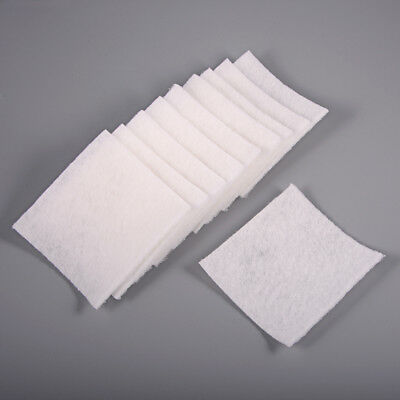 10pcs White Scrub Pads Great for Cleaning Window Tint Squeegee Felt Installers