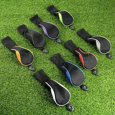 Set of 4Pcs Golf Club Headcover Protector Case Golf Hybrid Club No.3 4 5 7 X HOT