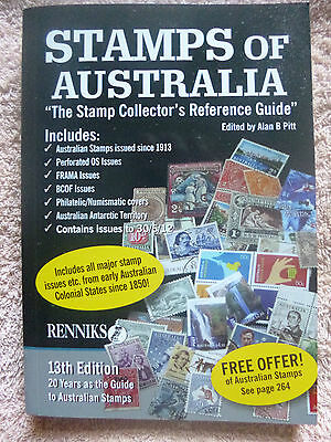RENNIKS 2012 STAMPS of AUSTRALIA & COLONIES STAMP CATALOGUE IN FULL COLOUR