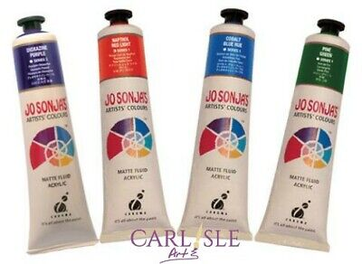 Jo Sonja's Artists Colour 75ml Tube Choose Your Colour By One. Page 1.