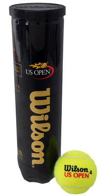 Wilson US Open Tennis Balls - Come Sealed Tube New