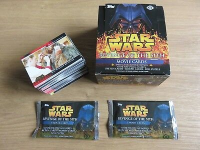 Star Wars Revenge of the Sith trading cards Topps 2005