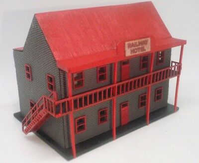 N Scale Hotel for Model Railway Layout