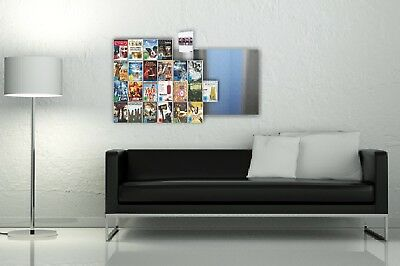 Design DVD Regal Wandregal, CD-Wall® DVD-Regal-System, DVDs als Blickfang