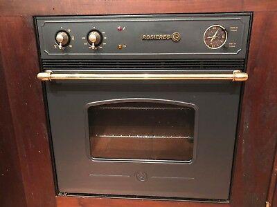 Antique French Vintage Rosieres Stove Oven and Cooktop Hob