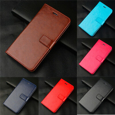 For Samsung Galaxy S5 Neo S7 S9+ S8 S10e Magnetic Wallet Case Flip Leather Cover