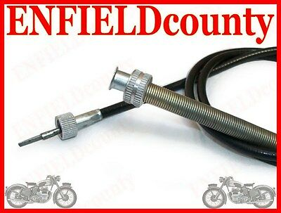 NEW REPLICA SMITHS SPEEDO SPEEDOMETER CABLE 47 Inch LONG FOR ROYAL ENFIELD @UK