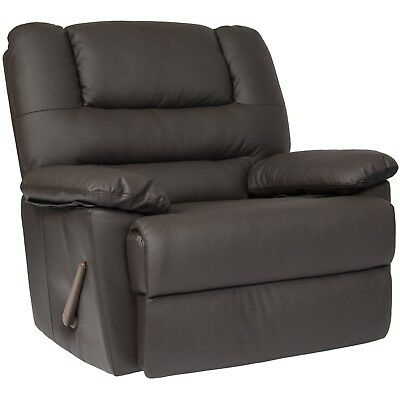 Oversized Recliner Chair Living Room Arm Club Seat Rocker Wide Big Comfort Home
