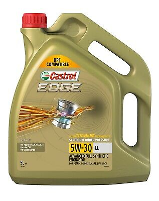 Castrol EDGE FST Full Synthetic 5W30 Engine Oil 5L 3413348 fits BMW 2 Series ...