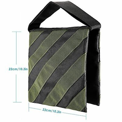 """Army Green 10x10"""" Heavy Duty Video Sand Bag for Tripod Light Stands Boom Stand"""